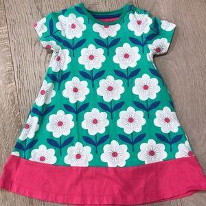 Mini Boden flower dress, 3-4yr